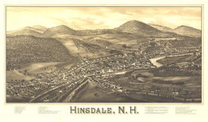 Historic Hinsdale Map